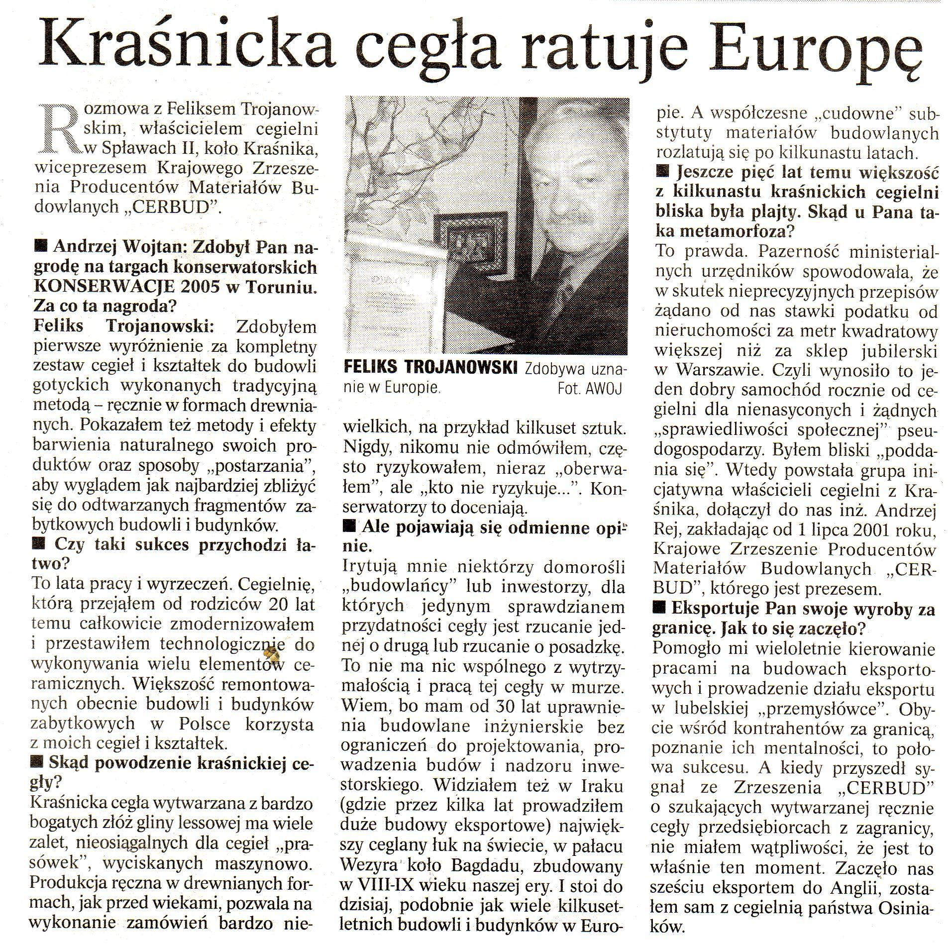 """""""Kurier Lubelski"""" Nr: 303, 30 Grudzień 2005"""
