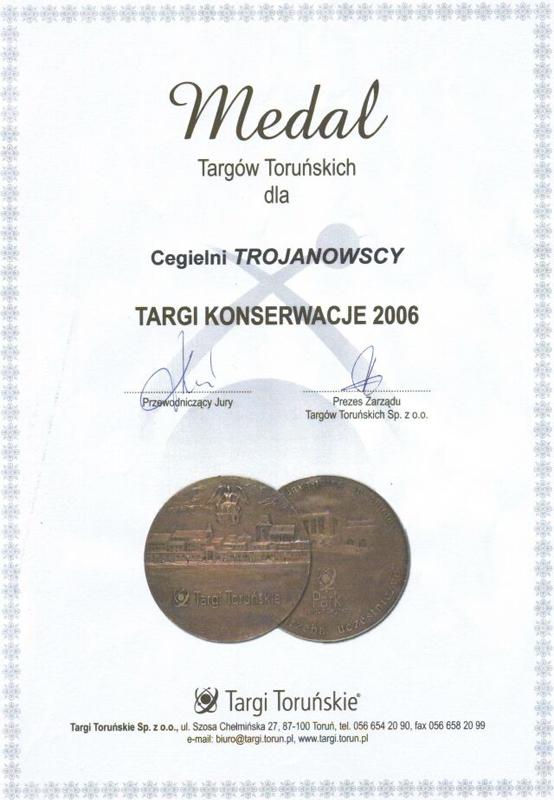 Zdobyliśmy złoty medal na XI Targach Konserwatorskich w Toruniu