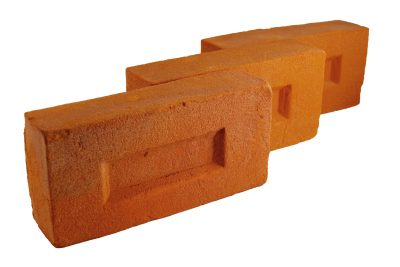 Cegła elewacyjna pomarańczowa
