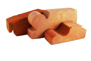 Moulded brick manually molded Brickyard Trojanowscy Poland