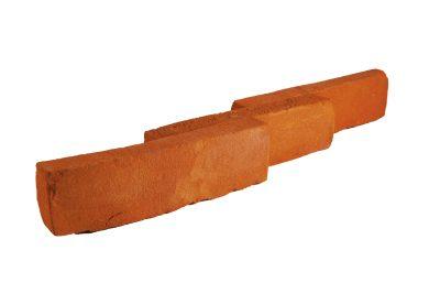 Płytka ceglana elewacyjna pomarańczowa
