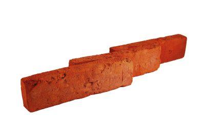 Płytka ceglana elewacyjna postarzana czerwona