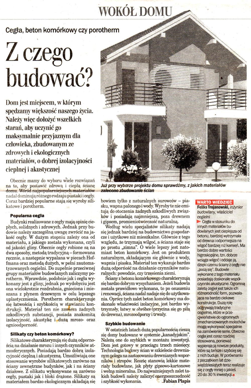"""""""Dziennik Wschodni"""" 29 Październik 2003"""
