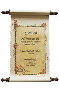 Otrzymaliśmy wyróżnienie na X Targach Konserwatorskich w Toruniu 12-14.10.2005