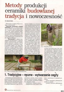 We have repeatedly written about our factory in the press - best polish brick