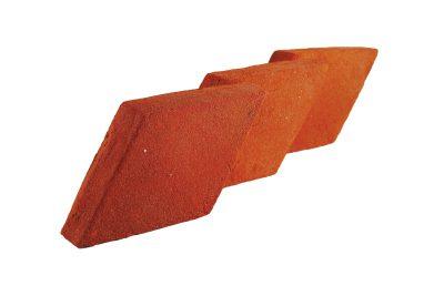 Chodnik ceglany czerwony ręcznie formowany Cegielnia Trojanowscy Kraśnik