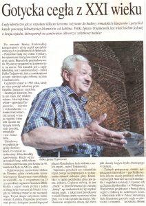 gazeta wyborcza lublin wtorek 13 lipca 2004 gazeta wyborcza 2004 renowacja obiektów lublin cegła gotycka lublin cegielnia trojanowscy