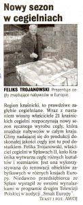 Artykuł gazeta kurier lubelski 2006 popularna cegielnia producent ceramiki