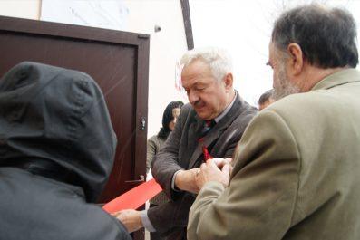 Feliks Trojanowski dokonuje uroczystego otwarcia Izby Tradycji Ceglanej