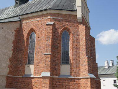 Kościół Wniebowzięcia NMP Kraśnik Cegły Gotyckie