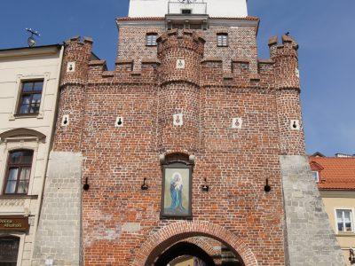 Brama Krakowska w Lublinie Cegły Gotyckie Duże Niemki