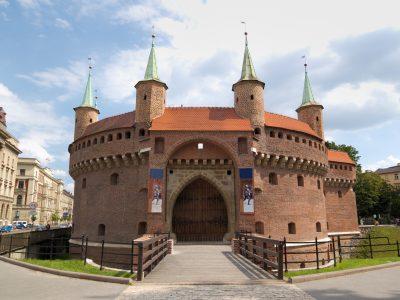 Barbakan Kraków Cegła Standardowa Duża Niemka