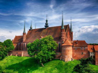 Bazylika Archikatedralna Cegła Gotycka Duża Niemka