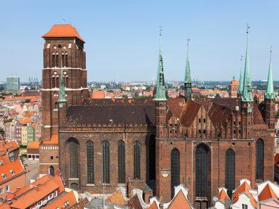 Bazylika Mariacka Gdańsk Cegły Gotyckie