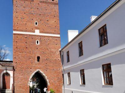 Brama Opatowska w Sandomierzu Cegły Gotyckie