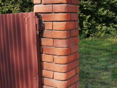 Daszek na ogrodzenie ręcznie produkowany manufaktura Cegielnia Trojanowscy