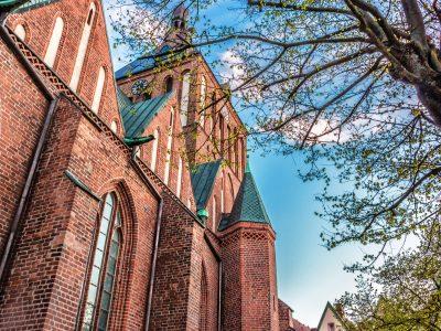 Katedra Koszalin Cegła Gotycka Kształtki Ceglane