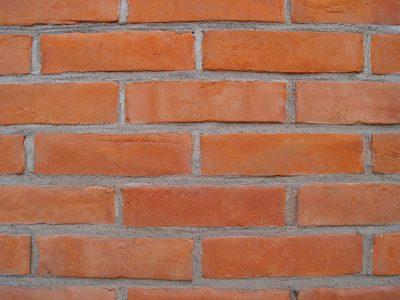 Cegła elewacyjna standardowa lico tradycyjne kolor pomarańcz realizacja Szczecin
