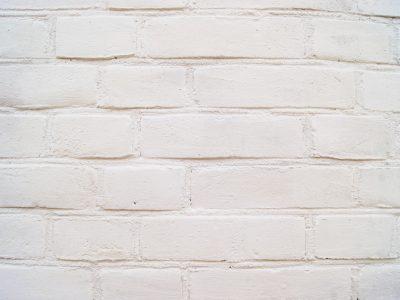 Cegła elewacyjna standardowa lico tradycyjne kolor biały (malowany) realizacja Warszawa