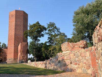 Mysia Wieża w Kruszwicy Cegła Klasztorna