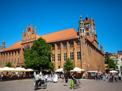 Ratusz Toruń Cegły Gotyckie