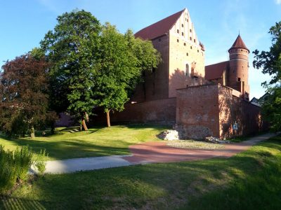 Zamek Kapituły Warmińskiej Olsztyn Cegły Gotyckie Duże