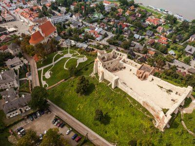 Zamek Kazimierz Dolny Cegły Gotyckie Standardowe Duża Niemka