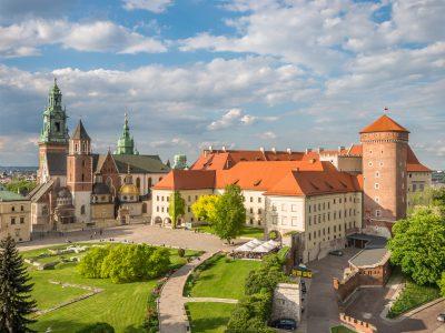 Zamek Królewski Na Wawelu Cegły Gotyckie Duże Niemki