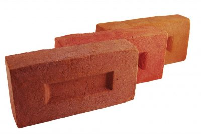 Brick facade melange