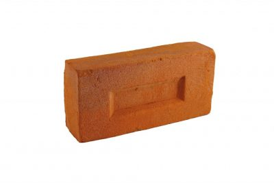 Brick facade orange