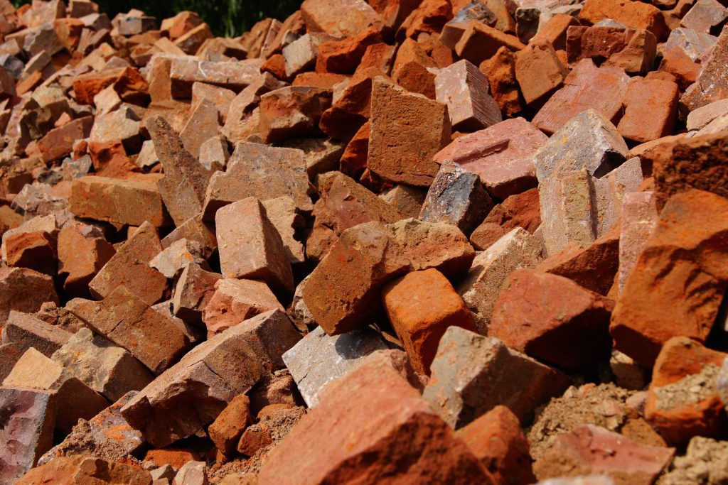 Brick Rubble Brickyard Trojanowscy Bricks Tiles And