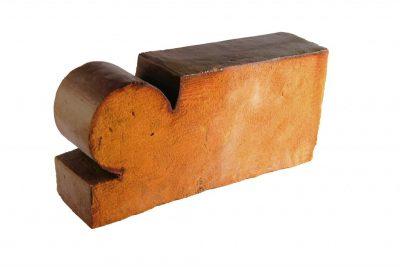 Glazed shaped brick I
