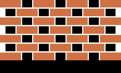 Wiązanie flamandzkie cegieł i płytek ręcznie formowanych. Sposoby układania wiązania cegieł płytek