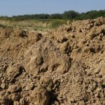Glina lessowa kopalnia w Cegielni Trojanowscy