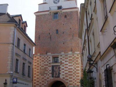 historisch tor restauriert renoviert aus hand geformt ziegel aus produzent hersteller ziegelei trojanowski polen