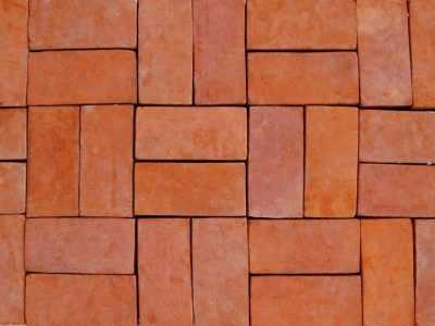best red floor tiles pavement sidewalks manufacturer handmmande crafted brickyard