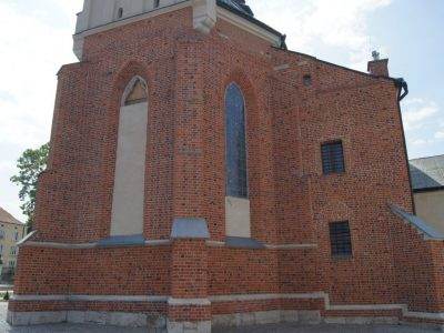 church restored brick producer poland