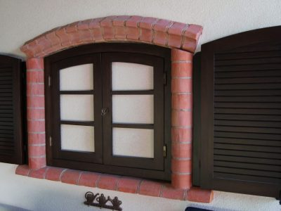 cornice and edge brick shaped fitting-manufacturer-handmade trojanowscy brickyard poland