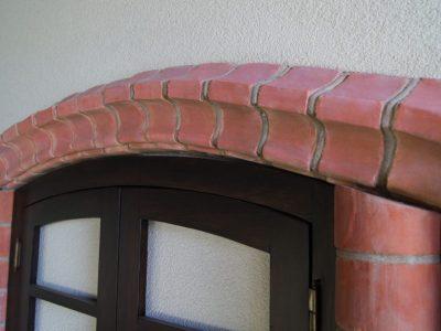 cornice handmade brick producer brickyard poland trojanowscy
