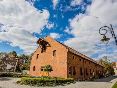 gothic building restore brick facade