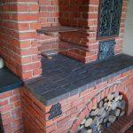 Kominek z cegły licowej ręcznie formowanej tradycyjnej licowej od Cegielnia Trojanowscy