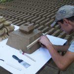 Manufaktura ręczna produkcja ceramicznych elementów budowlanych