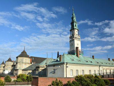 monastery restored handmade brick manufactory brickyard trojanowscy poland