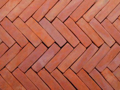 red floor tiles pavement brick brickyard sidewalk rectange