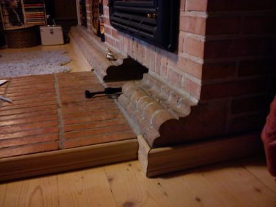 shaped brick fitting handmade for restoration