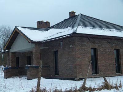 gray brick facade poland brick factory manufacturer trojanowscy