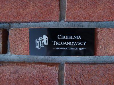 Bord zu Backstein Fassade Kirsche Wohnzimmer handgemacht direkt ziegelei trojanowscy krasnik