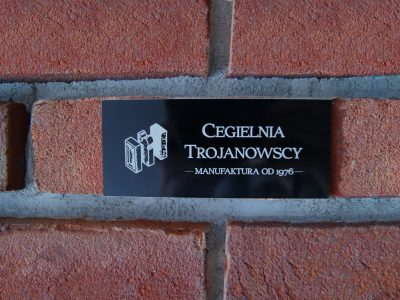 board to brick facade cherry living room hand made directly brickyard trojanowscy kraśnik poland