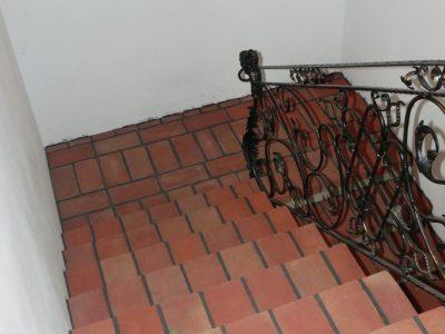 brick floor to living Romanesque brick factory manufacturer Trojanowscy poland