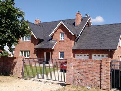 brick tile red on the house hand molded producer manufacture brick factory Trojanowscy krasnik poland